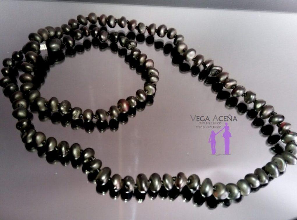 eff70410d36b Collar de ámbar adulto extra largo color negro - Vega Aceña